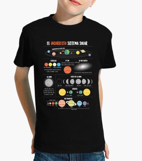 Vêtements enfant système solaire