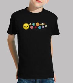 système solaire and planètes pour les enfants