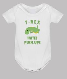 t-rex déteste push ups