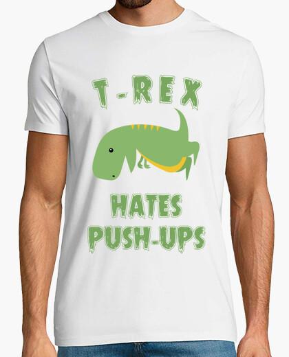 Tee-shirt T-Rex déteste les pompes