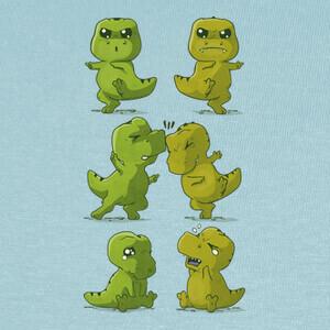 Camisetas T-Rex Fusion