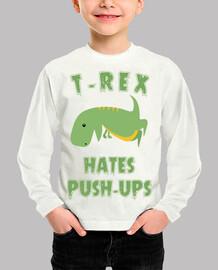 T-Rex Hates Push Ups