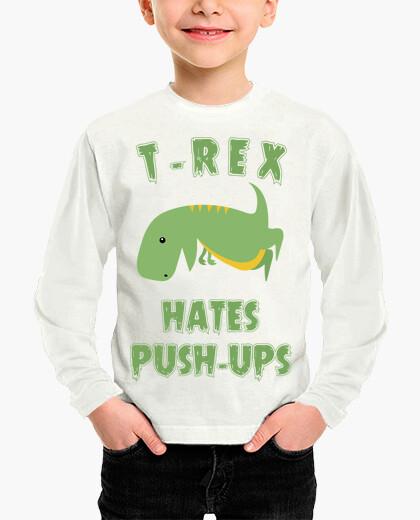 Ropa infantil T-Rex Hates Push Ups