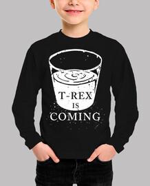 T-Rex is coming