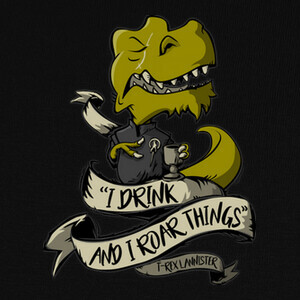 Camisetas T-Rex Lannister