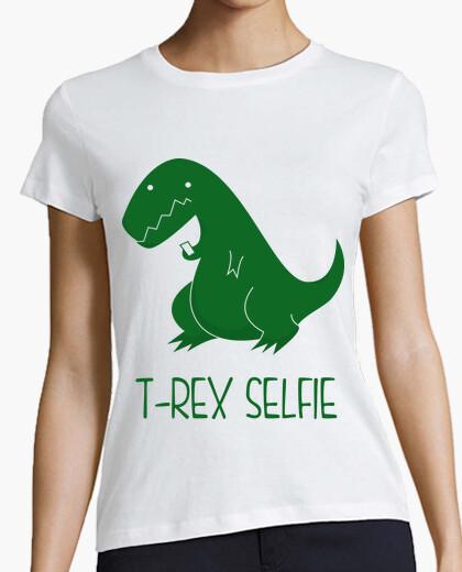 Camiseta T-Rex selfie