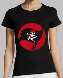 t-shirt - bandiera jolly roger pirata
