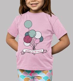 t-shirt - free balloons