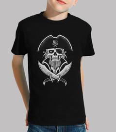t-shirt - il capitano dei pirati