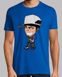 T-Shirt - JULIEN LOGO BLEU