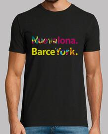 t-shirt -barceyork nuevalona