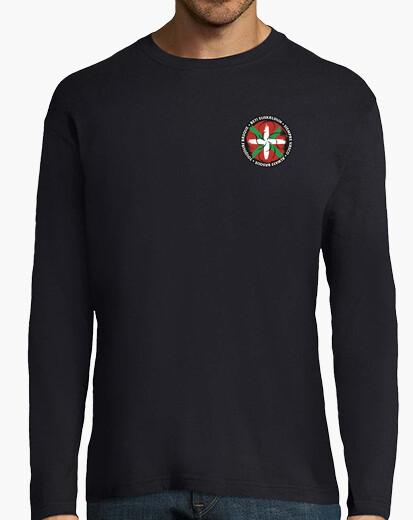 T-shirt -shirt a maniche lunghe-...