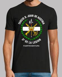 t-shirt -terza 3 ° legion mod.3