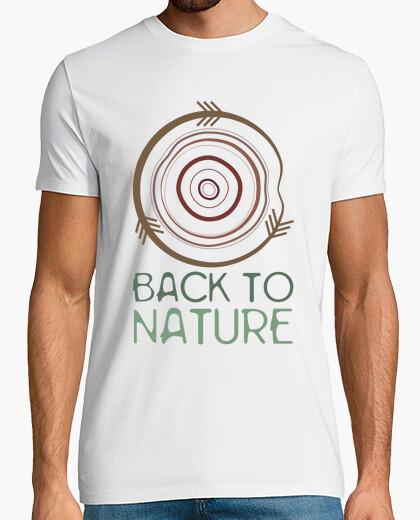 T-shirt 1 back alla natura
