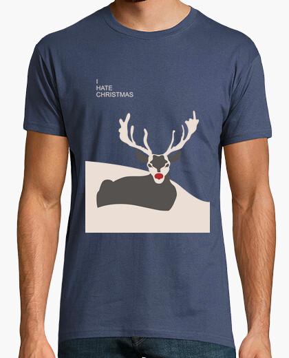 T-shirt 1. odio il natale