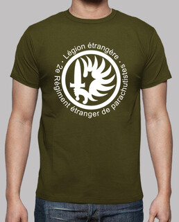 t-shirt 2erep french paratrooper. mod.1