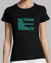t-shirt à manches courtes femme visible ne son pas tous visibles