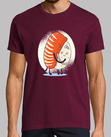 t-shirt abbraccio sushi