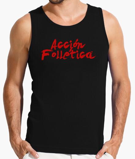 T-shirt af logo
