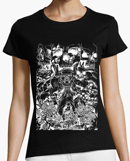 T-shirt affrontare il terrore - negativo