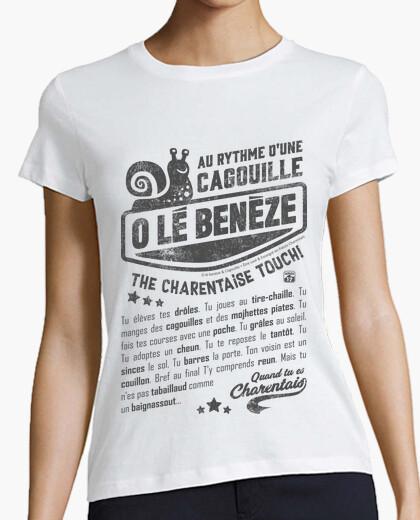 T-shirt al rythme della lumaca cagouille