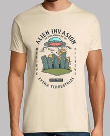 t-shirt aliena aliena ufo
