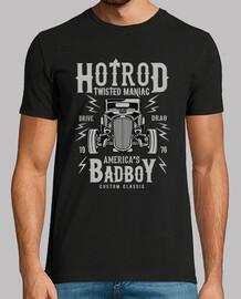 t-shirt american classic car vintage hotrod rockabilly