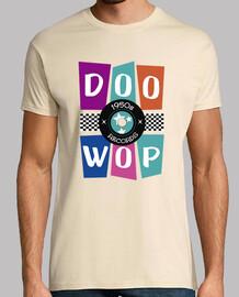t-shirt anni '50 doo wop rock and roll