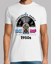 t-shirt anni '50 sock hop anni '50 rockabilly