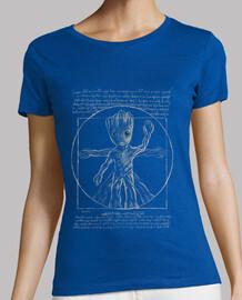 t-shirt arbre vitruvien w