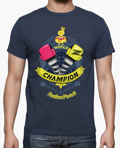 T-shirt arms champion