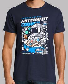 t-shirt astronauta giovanile del cartoni animati