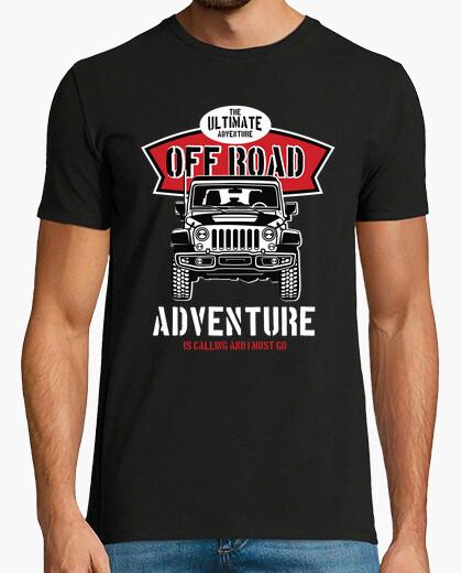Tee-shirt t-shirt aventures tout-terrain rétro 4x4