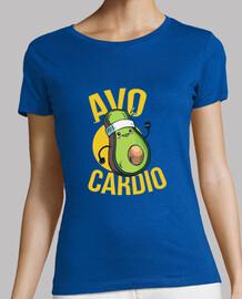 t-shirt avocado runner
