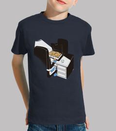 t-shirt bambini gangster cookie monster