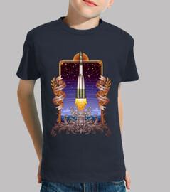 t-shirt bambini vostok 1