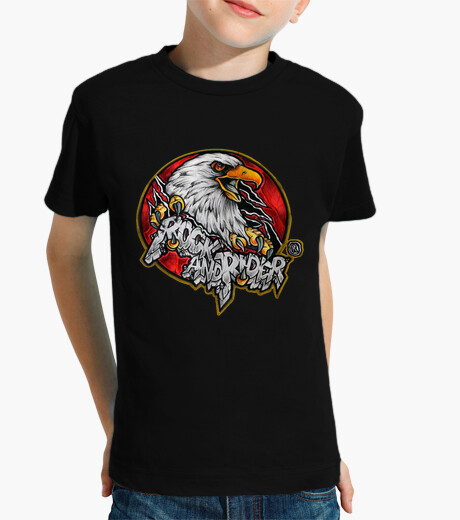 T-shirt bambino aquila ufficiale rock e rider