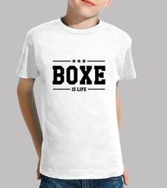 t-shirt bambino boxing