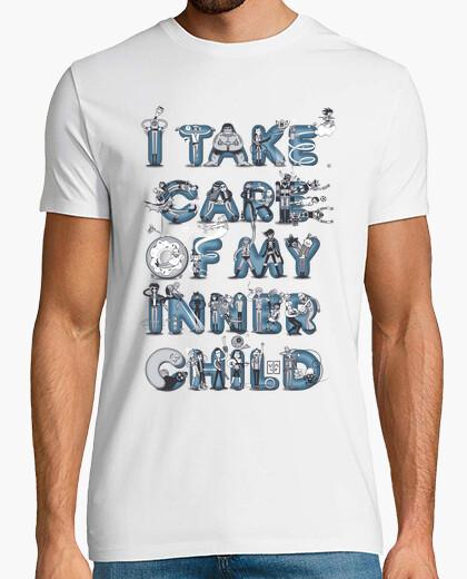 T-shirt bambino interiore