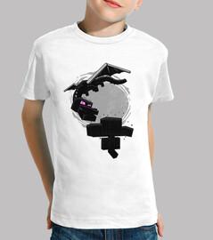 t-shirt bambino minecraft