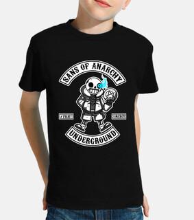 t-shirt bambino sans of anarchy