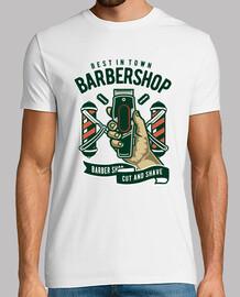 t-shirt barbiere vintage vintage barbiere