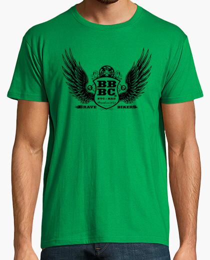 T-shirt bbbc brave bikers uomo