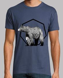 t-shirt bear cub