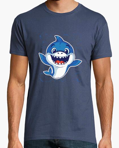 Tee-shirt t-shirt bébé requin