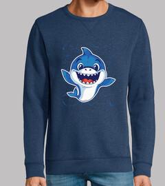 t-shirt bébé requin