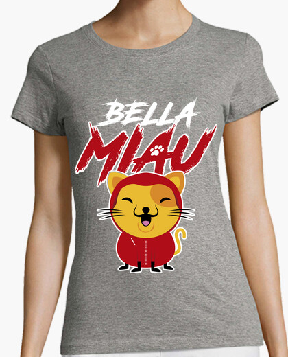 T-shirt bellissimo miao