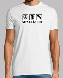 t-shirt bianca con il logo nero
