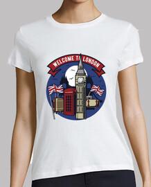 t-shirt bienvenue à londres uk
