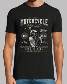 t-shirt biker vintage motorcycle 1965 rockers